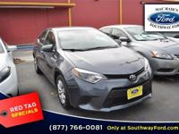 Look at this 2014 Toyota Corolla LE. Its Variable