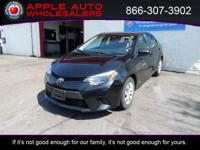 Options:  2014 Toyota Corolla Le|No Known Accidents|No