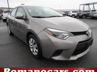 Step into the 2014 Toyota Corolla! A great car and a