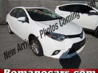 Step into the 2014 Toyota Corolla! It just arrived on