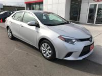 Options:  2014 Toyota Corolla Le|$ $ $ $ $ I Knew That