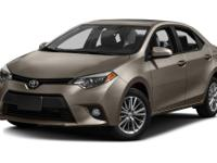 Options:  2014 Toyota Corolla Le|**Prices Are Plus