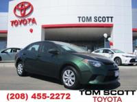 Introducing the 2014 Toyota Corolla! It just arrived on