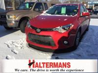 Red Hot! Success starts with Halterman Toyota! This