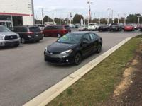 Check out this gently-used 2014 Toyota Corolla we