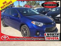 Just Reduced! Certified. Clean CARFAX. ONE OWNER, 1