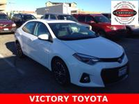 2014 Toyota Corolla S Plus in White starred featured