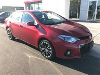 Options:  2014 Toyota Corolla S Plus|Are You Interested
