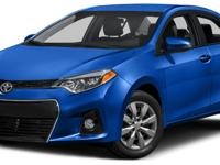 Options:  2014 Toyota Corolla S Plus|**Prices Are Plus