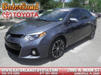 Options:  2014 Toyota Corolla S Plus|**Prices Are Plus