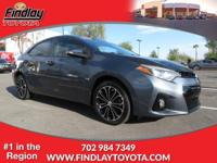EPA 37 MPG Hwy/28 MPG City! Toyota Certified, CARFAX