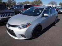 Recent Arrival! 2014 Toyota Corolla LECARFAX One-Owner.