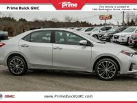 2014 Toyota Corolla S CARFAX One-Owner. Clean CARFAX.