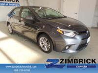 Options:  2014 Toyota Corolla 4Dr Sdn Cvt Le Plus