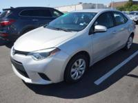 Recent Arrival! 2014 Toyota Corolla LEABS brakes,