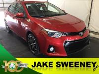 Our 2014 Toyota Corolla S is eager to please. Under the
