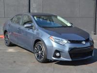 This 2014 Toyota Corolla S CVT features a 1.8L 4