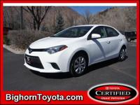 2014 Toyota Corolla Sedan LE Our Location is: Bighorn