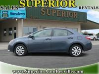 2014 Toyota Corolla Sedan LE Our Location is: Superior