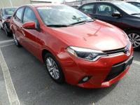 2014 TOYOTA COROLLA LE IN EXCELLENT CONDITION WITH LOW
