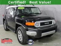 New Price! Certified. 2014 Toyota FJ Cruiser Upgrade