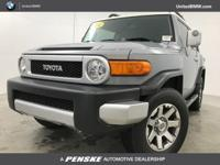 ONLY 37,002 Miles! GRAY exterior, FJ Cruiser trim.
