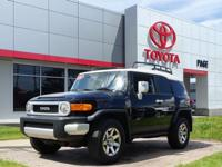 CARFAX One-Owner. Certified. Black 2014 Toyota FJ