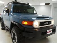 2014 Toyota FJ Cruiser Certified. CARFAX One-Owner.