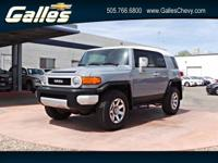 Scores 20 Highway MPG and 17 City MPG! This Toyota FJ