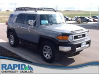 Check out this gently-used 2014 Toyota FJ Cruiser we