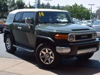 CARFAX One-Owner. Green 2014 Toyota FJ Cruiser 4WD