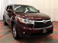 Our One Owner 2014 Toyota Highlander XLE AWD SUV, in