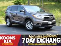 2014 Toyota Highlander LE Predawn Gray Mica **EASY TO