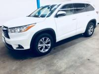 CARFAX One-Owner. Clean CARFAX. White 2014 Toyota