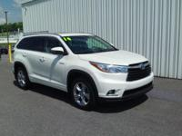 ONE OWNER!! 2014 TOYOTA HIGHLANDER LIMITED HYBRID!!