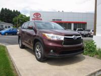 ONE OWNER!! 2014 TOYOTA HIGHLANDER LE PLUS!! AWD, 3.5L