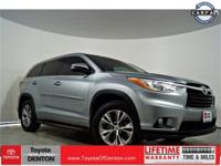 Silver 2014 Toyota Highlander LE Plus V6 FWD 6-Speed