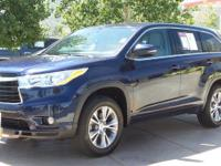 New Price! CARFAX One-Owner. Blue 2014 Toyota