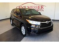 We are excited to offer this 2014 Toyota Highlander.