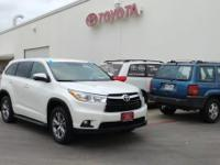 Check out this gently-used 2014 Toyota Highlander we