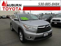 1 OWNER, AWD, LEATHER!  This 2014 Toyota Highlander