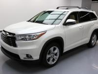 This awesome 2014 Toyota Highlander 4x4 comes loaded