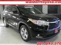 2014 Toyota Highlander Limited w/ 26,856 miles!