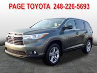 AWD. GPS Nav! At Page Toyota, YOU'RE #1! Looking