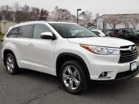 Highlander Limited, AWD, Navigation System, and Power