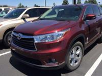 Look at this 2014 Toyota Highlander Limited Platinum.