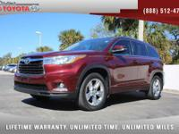 2014 Toyota Highlander Limited V6, *** 1 FLORIDA OWNER