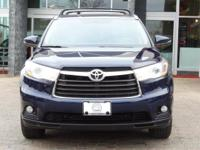 Options:  2014 Toyota Highlander Xle|Nautical Blue