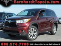 We are thrilled to offer you this CERTIFIED 2014 TOYOTA