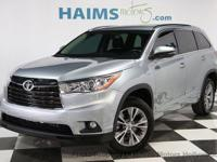 2014 Toyota Highlander XLE. Why wait? Call today for a